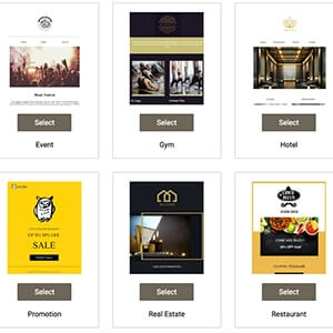 templates examples by MainBrainer