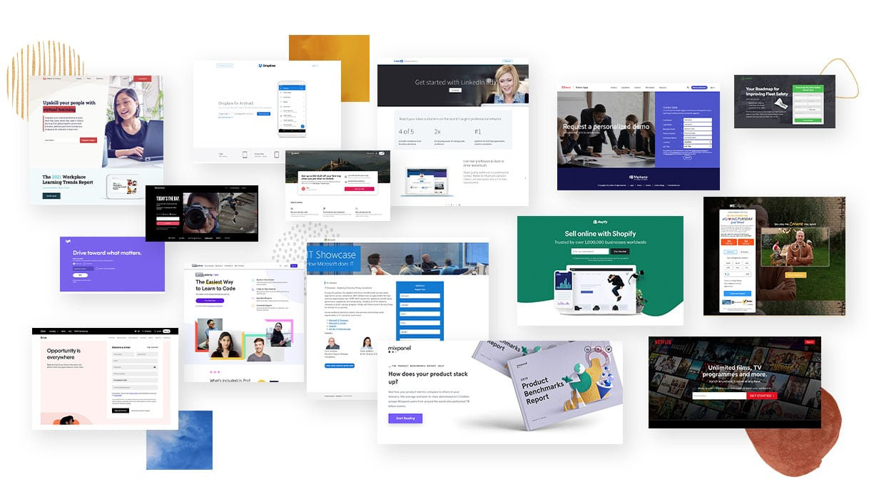 15 best landing page examples