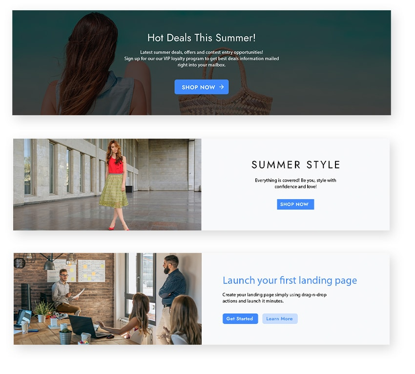 best landing page call-to-action