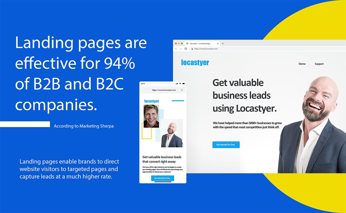 why landing page is important for businesses